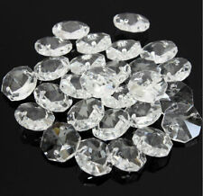 20PCS 14MM Clear Crystal Octagonal beads Decoration Crystal chandelier parts