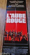 L'AUBE ROUGE   ! affiche cinema format pantalon