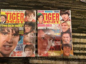 Tiger Beat Teen Magazine Sept Oct 1967 Monkees Raiders Jefferson Airplane Beatle