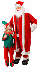 Santa Prop 6ft Singing and Dancing Life Size Father Christmas Animated Display