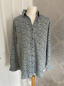 Ladies James Meade Long Sleeve Shirt Floral Liberty? Size 12