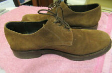 MENS SHOES BY JONES BOOTMAKERS SUEDE LEATHER  SIZE 10 EUR 44 BROWN LACE-UP