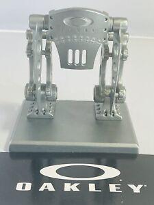 Oakley Robotic Storefront Display X-Metal Robot Rare #'rd Pin Bunker Trophy Pin