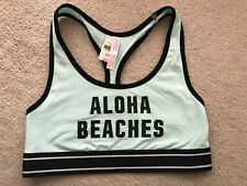 NWT! Victoria's Secret Pink Aloha Beaches Sports Bra Size S