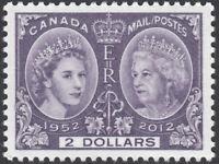 QUEEN Elizabeth ll = Diamond Jubilee = Canada 2012 #2540 MNH