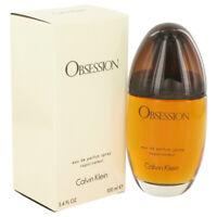 OBSESSION by Calvin Klein 3.4 oz 100 ml EDP Spray Perfume for Women New in Box