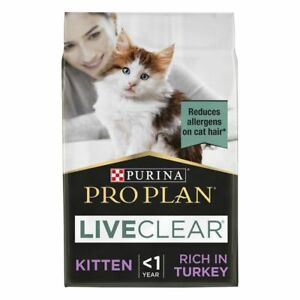 Purina Pro Plan LiveClear Turkey High In Protein Dry Food For Kitten*1.4kg PACK*