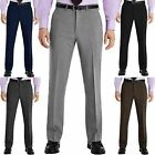 Mens Trousers Formal Smart Casual Office Trousers Business Dress Pants