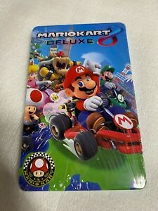 Mario Kart 8 Deluxe Steelbook Case (Nintendo Switch) No Game Card, New & Sealed