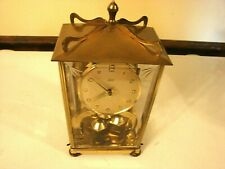 Anniversary Clock Aug. Schatz & Sohne #53  400 Day  German W/Key