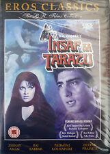 INSAF KA TARAZU - BOLLYWOOD DVD - EROS Bollywood indian movie dvd.