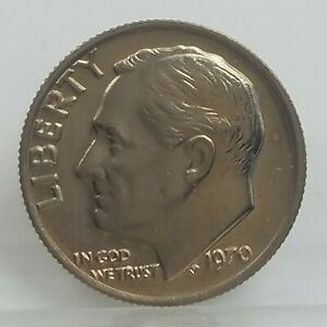 1970 Roosevelt Dime   10 cents   Philadelphia   Coin