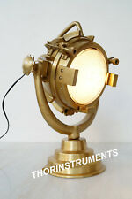 Nautical Collectible Antique Brass  Spot light table lamp With Base
