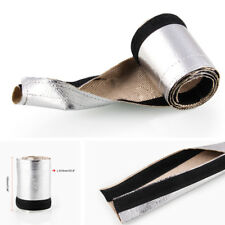 910MM Vehicle Car Metallic Heat Shield Thermal Sleeve Insulated Wire Hose Cover