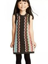 Missoni Target Colore Zig Zag Sleeveless Sweater Dress NWT GIRLS XS 4