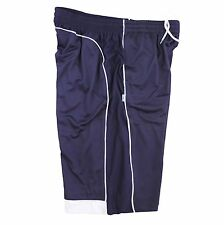 PRO5 4XL BASKETBALL SHORTS BIG AND TALL LONG ATHLETIC MEDIUM WEIGHT NAVY