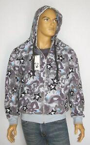 tokidoki marvel adios grey 100% cotton mens boys hoodie sweater sweatshirt