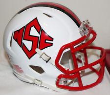 2016 NC State Wolfpack Diamond TB Logo Custom Riddell Mini Helmet vs Notre Dame