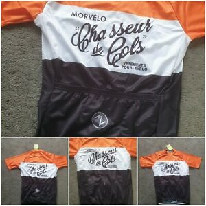 """Retro cycle jersey UK Size XL 42""""/44"""" Chest."""