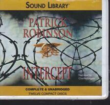 INTERCEPT by PATRICK ROBINSON ~UNABRIDGED CD AUDIOBOOK