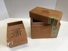 Fonseca, Nat Sherman Wooden Cigar Boxes Purses Crafts Jewelry Boxes