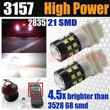 3157/3156 High Power 40W 800LM 6000K White Daytime Running DRL LED Light Bulbs