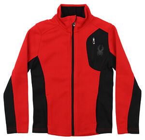 Spyder Youth Raider Full Zip Sweater, Color Options