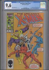 Uncanny X-Men #215 CGC 9.6 1987 Marvel Comic: 1st Stonewall: KEY Issue New Frame