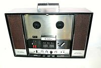 Vintage Wards Airline GEN-3687A Table Top Solid State Stereo Reel to Reel Tested