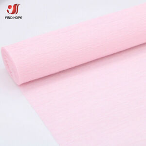25*250cm Roll Crepe Paper Party Wedding Celebration Birthday Decoration Colours