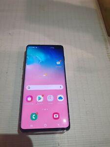 Samsung Galaxy S10+ SM-G975 - 128GB - Prism white (Unlocked) (Dual SIM) Pristine