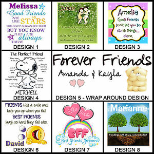 Personalised Friendship Mug - Any Name - Many Designs - Gift Idea - BFF, Friends