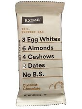 RX BAR Whole Food Protein Bar 1.83 oz 60 COCONUT CHOCOLATE CHIP Bars 01/13/2021