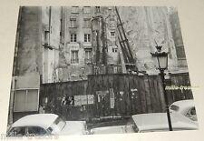 PHOTO ancienne SARTONY sur PARIS : Immeuble en démolition - Affiches MAMIAC URSS