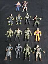 """Lot of 14 Army Military Action Figures 3.5"""" - 4""""  Lanard, Chap Mei"""