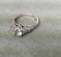 Sterling Silver  Band Ring Size 7 CZ Cubic Zirconia HSN/QVC CL LOT 8