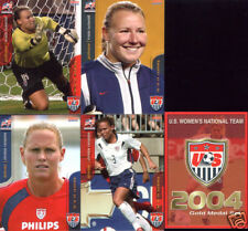 2004 Women Olympic Gold Medal soccer Christie Rampone lot of two 2 rookie cards