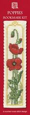 Poppies Bookmark Cross Stitch Kit by Textile Heritage