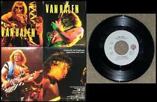 "VAN HALEN ~ 7"" 45 rpm VINYL SINGLE ~ HOT FOR TEACHER Clean! WITH FOLD OUT POSTER"