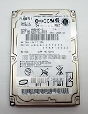 "Fujitsu 40.0GB laptop ide pata hard drive 2.5"" MHT2040AT"