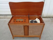 ESTATE* VINTAGE THE FISHER PHILHARMONIC TUBE SMALL STEREO CONSOLE