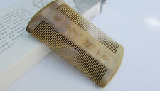 Nice QiaoYaTou Flowers Carve Pattern Verawood Fine-toothed Health Care Comb