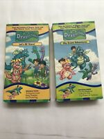 Lot of 2 (VHS) Dragon Tales - Let's All Share & Big Brave Adventure Year 2000
