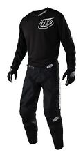 New 2018 36 XL Troy Lee Designs Midnight Mono Black Jersey Pants Kit MX Enduro