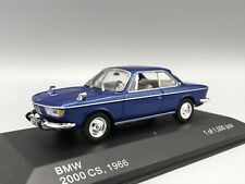 Bmw 2000 CS 1966 metallic-azul - 1:43 Whitebox >> New <<
