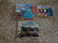 Thomas the Train Engine Books Lot of 3 GUC no connector for sound on Hardcovers