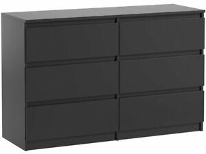 kommode 6 Schubladen schwarz, beste Qualität!!!!!!!!