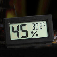 NEW Mini Digital LCD Indoor Temperature Humidity Meter Thermometer Hygrometer