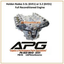 HOLDEN RODEO JACKAROO TF RA - 3.2L (6VD1) OR 3.5L (6VE1) RECONDITIONED ENGINE