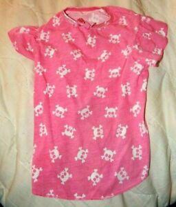 Pet Central Dog Pink Dress Skulls